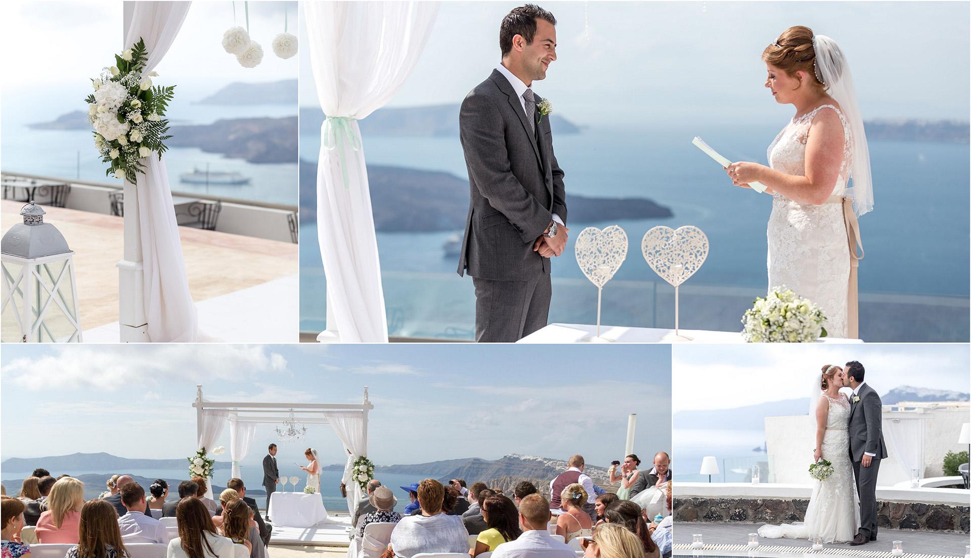 wedding santorini greece
