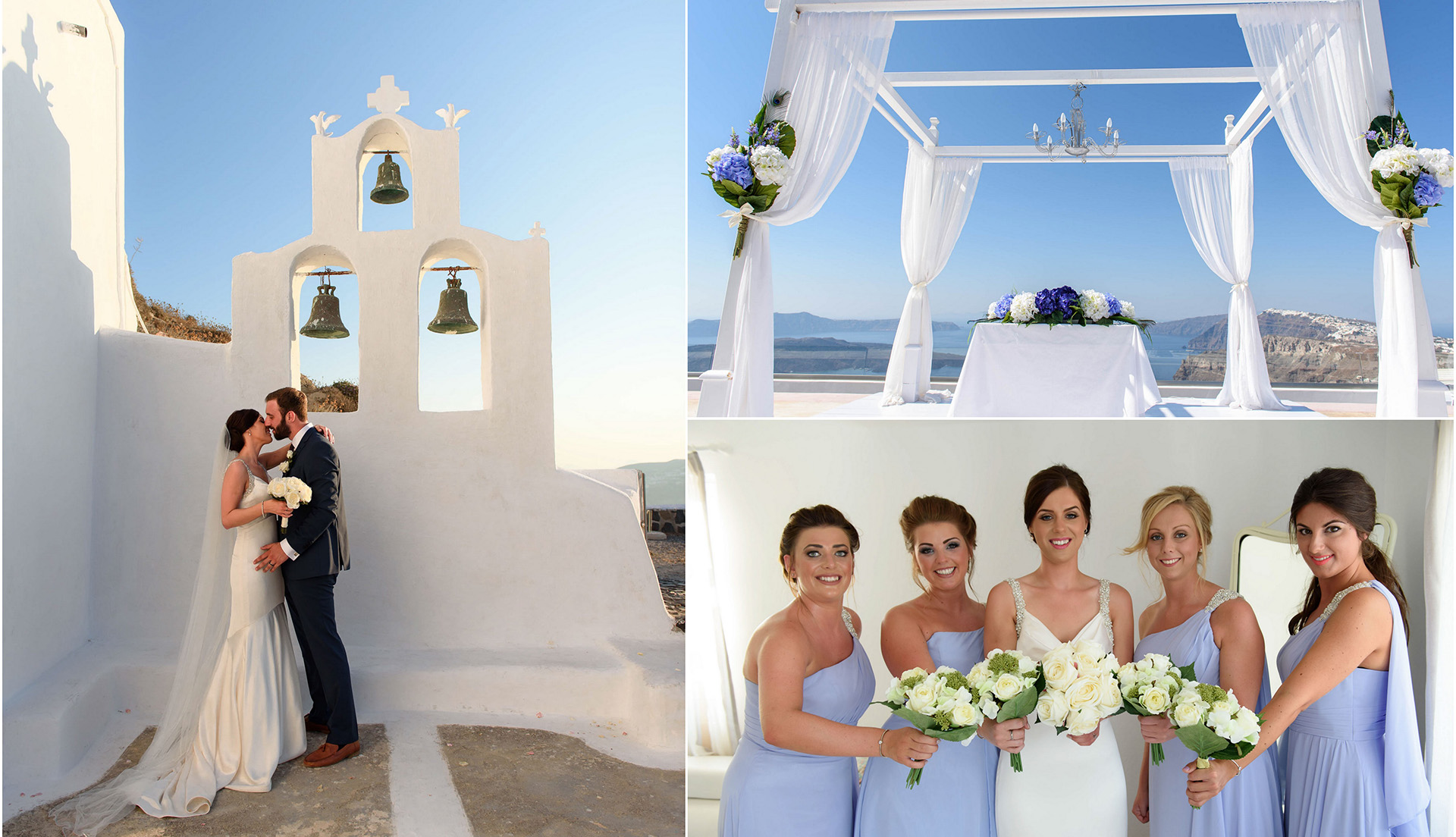 wedding planning santorini