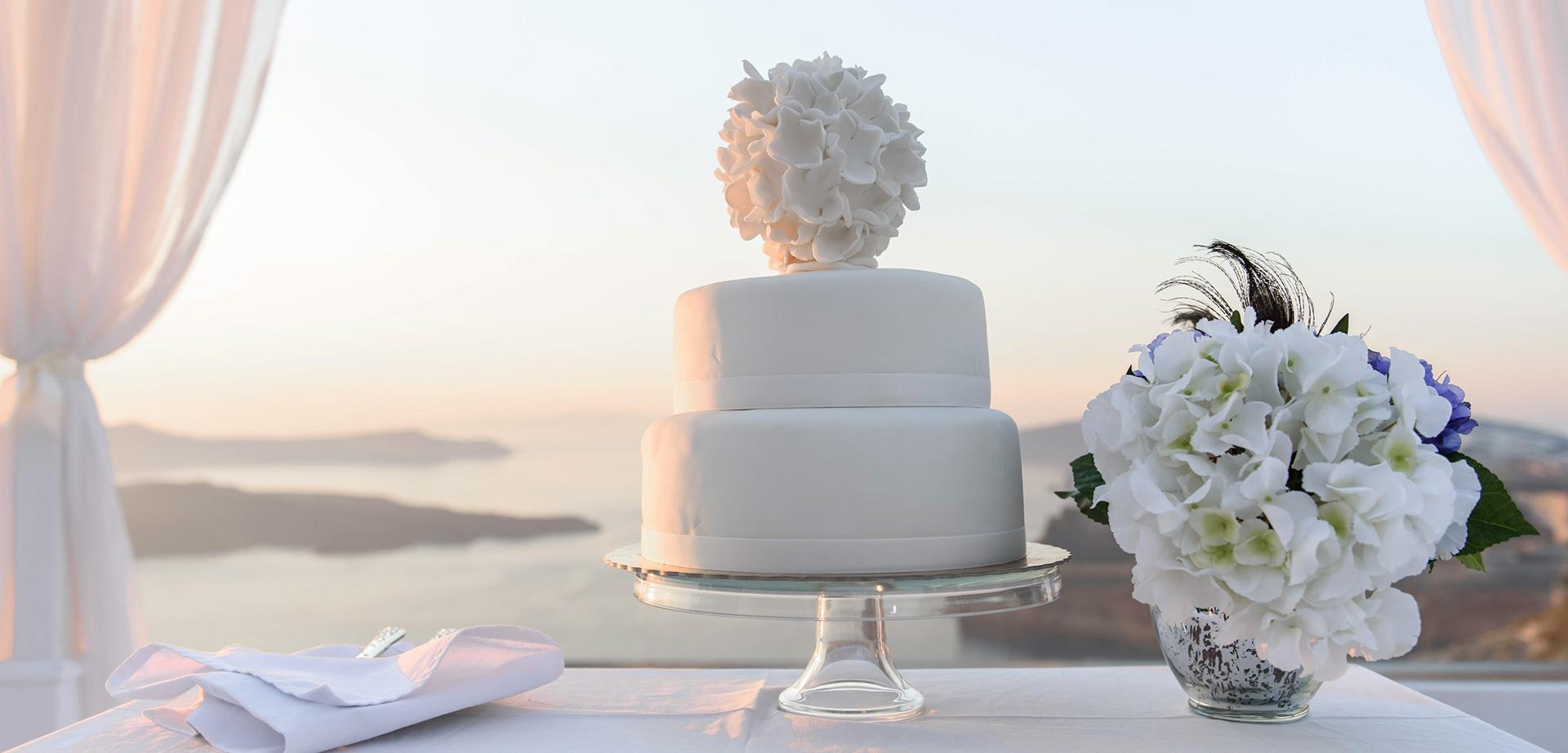 wedding ceremony santorini